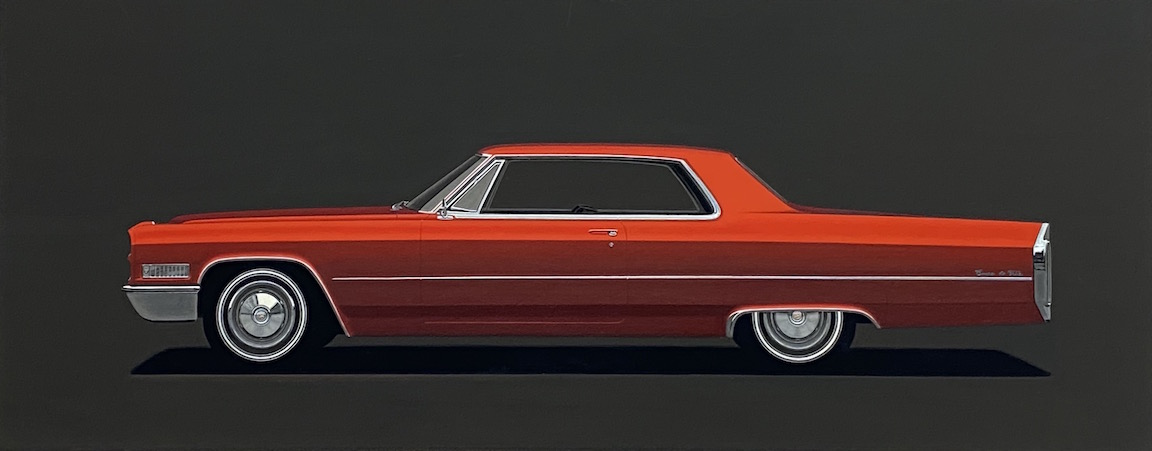 Flamenco Red Cadillac